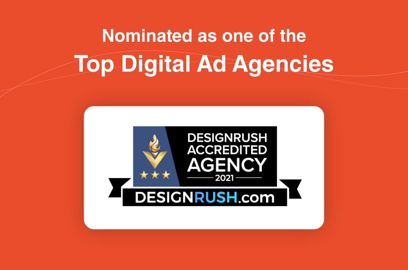 Ranking as a Top 30 Digital Ad Agency