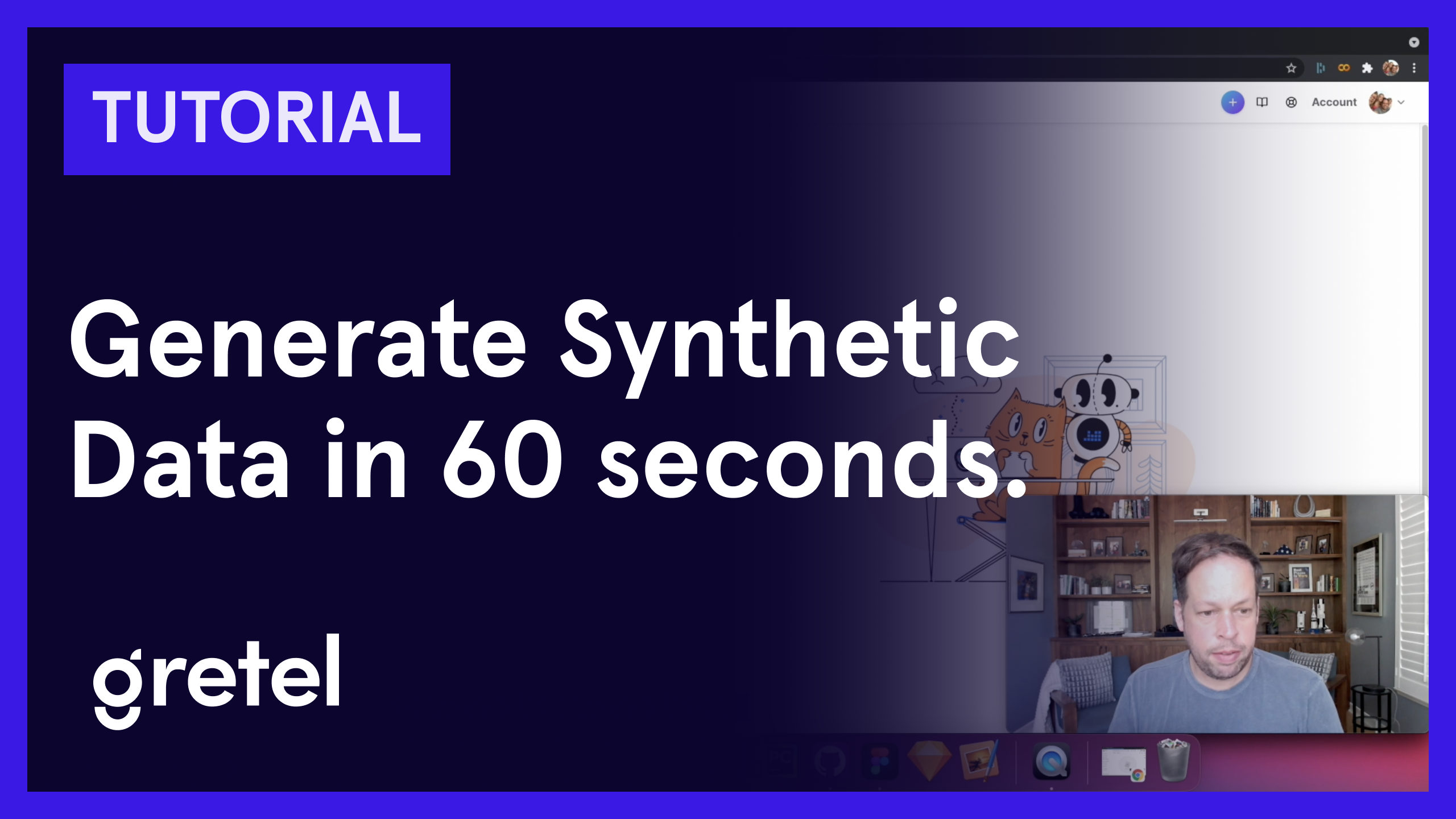 Generate Synthetic Data in 60 seconds