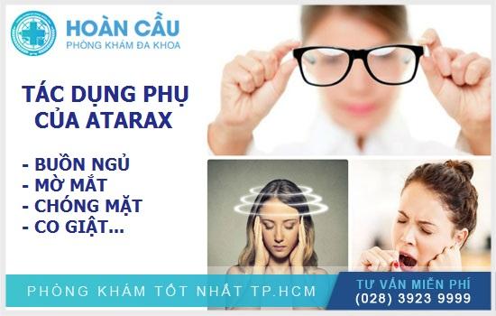 Thuốc Atarax có thể gây ra những tác dụng phụ nghiêm trọng