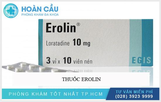 Thuốc Erolin
