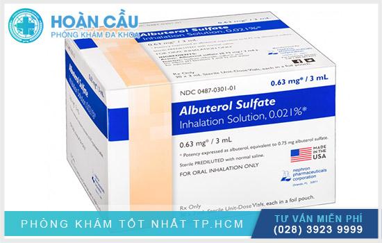Albuterol có tên hoạt chất là Albuterol