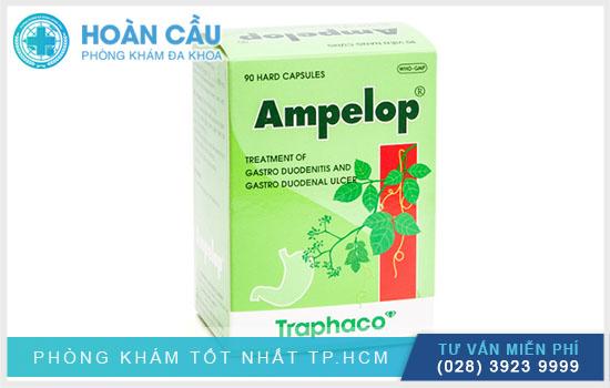 Với Ampelop thì đây là loại thuốc thuộc phân nhóm đường tiêu hóa