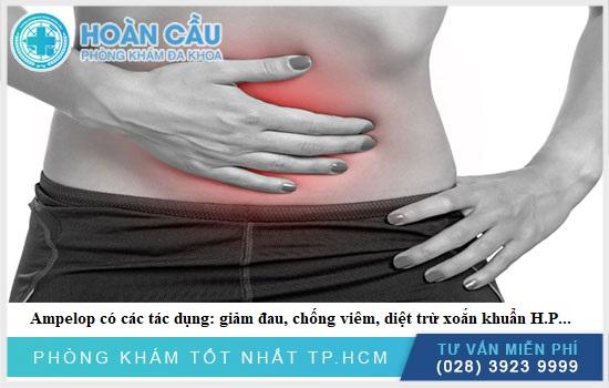 Thuốc hỗ trợ điều trị nhiều tình trạng như chống viêm, giảm đau, diệt trừ xoắn HP...
