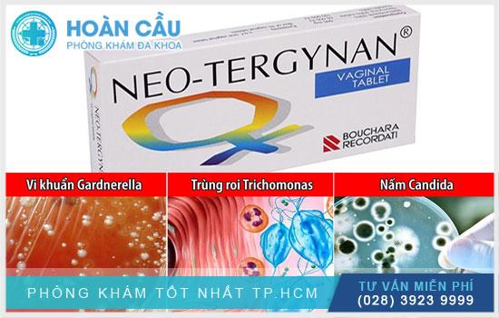 Neo Tergynan điều trị các bệnh viêm âm đạo do nhiễm nấm và vi khuẩn