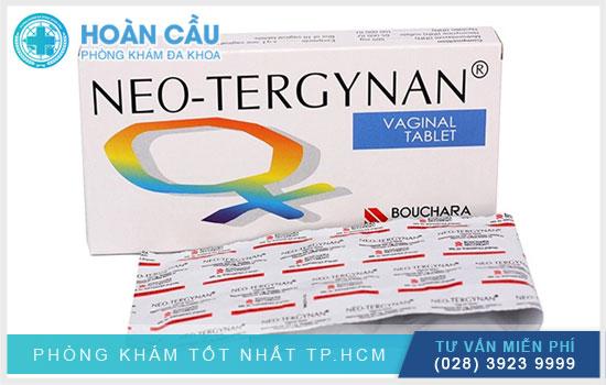 Thuốc đặt Neo Tergynan được dùng trong điều trị viêm âm đạo