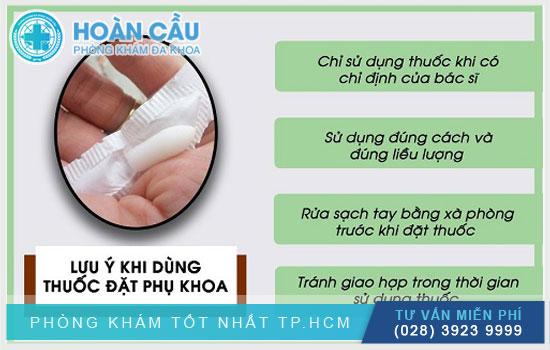 Hướng dẫn sử dụng thuốc đặt phụ khoa Neo Tergynan