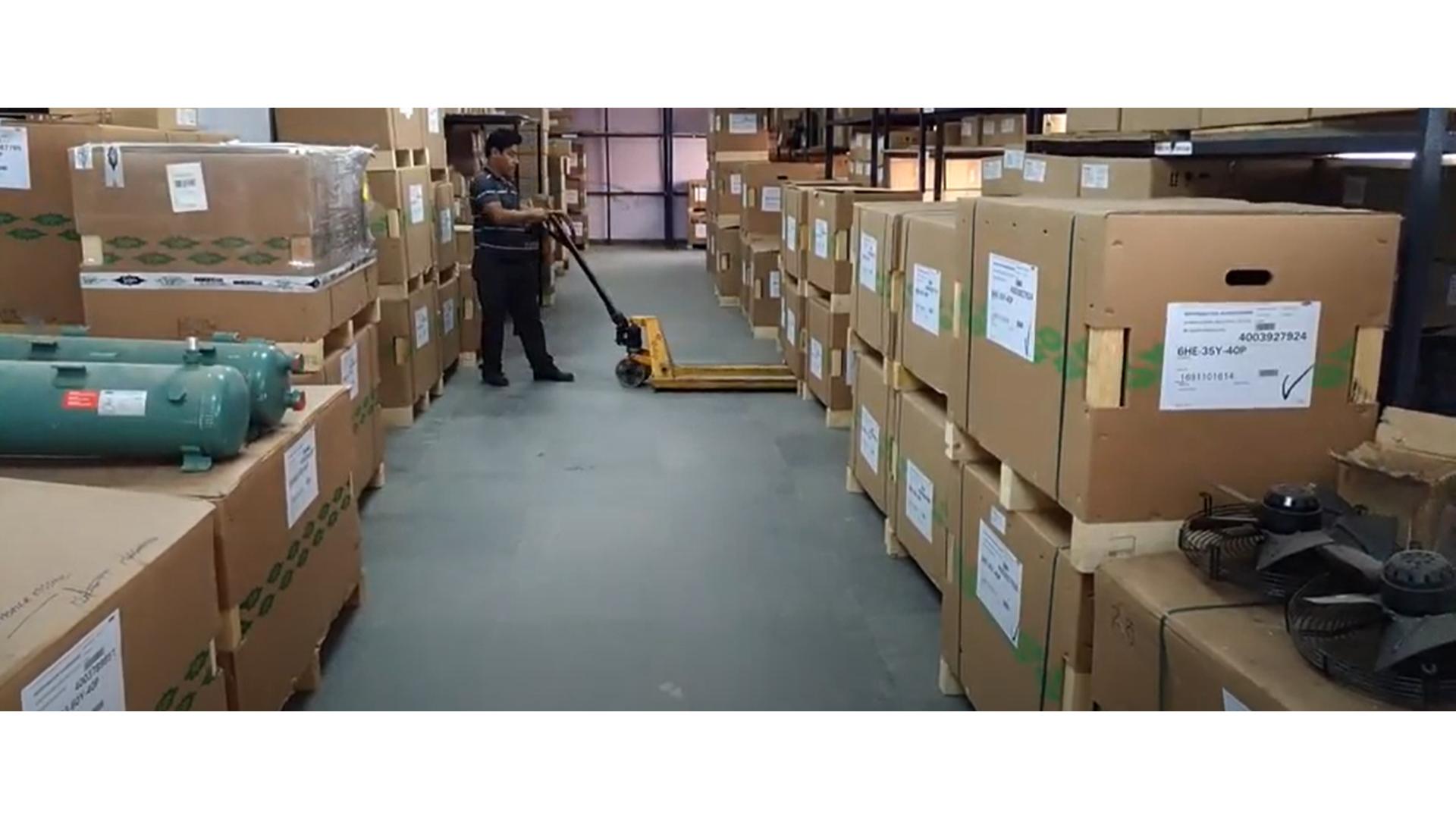 Refrigeration warehousing