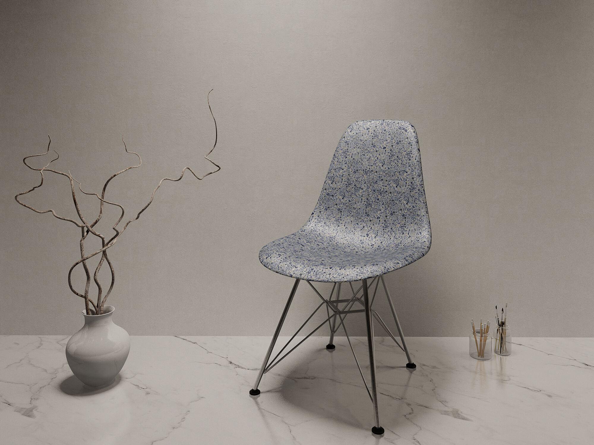 scalite chair blue