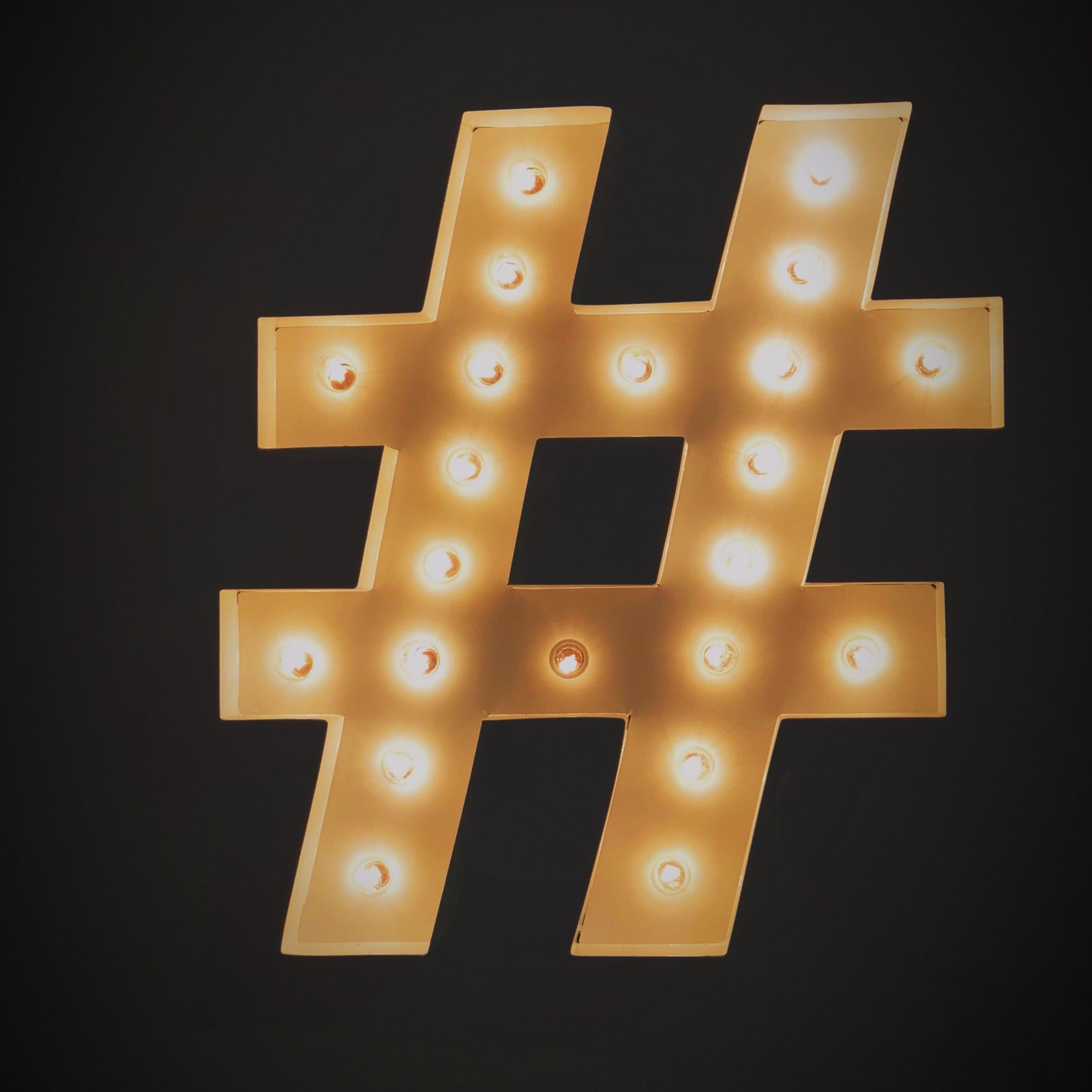 2. Work With #hashtags