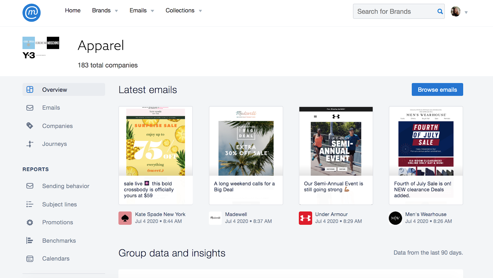Image result for mailcharts
