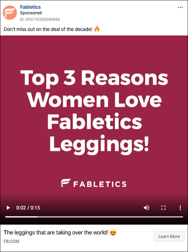 3 reasons why ad