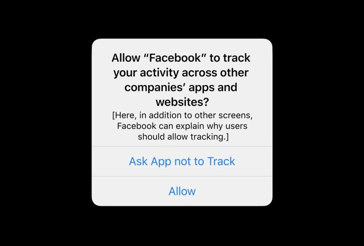 Permission for tracking in IOS 14 harms facebook ads performance