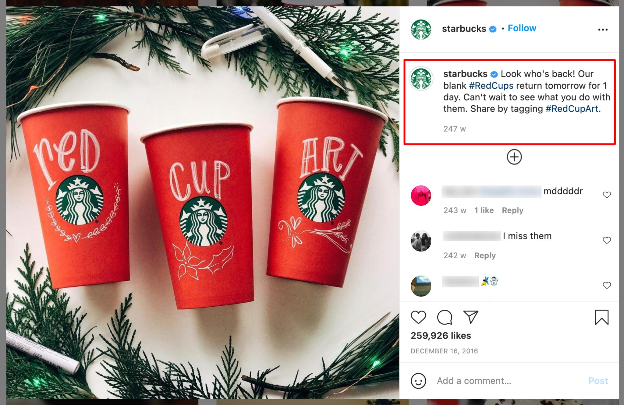 Christmas Social Media Campaigns