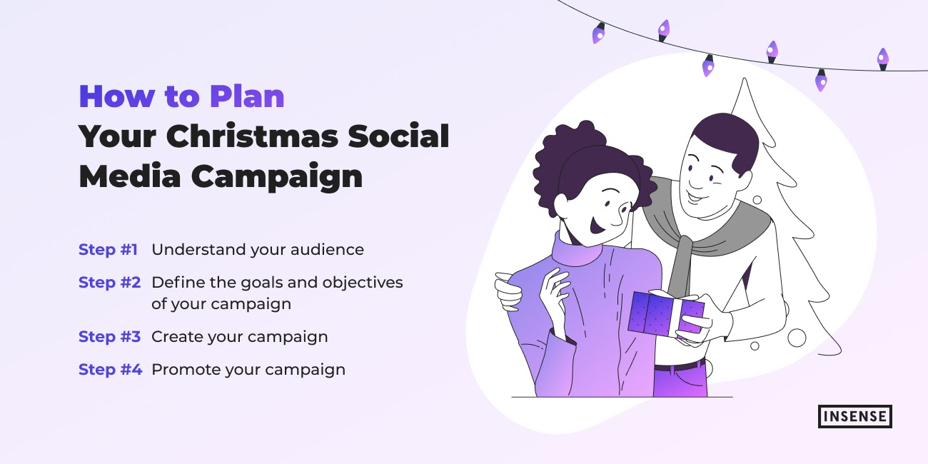How to Plan Your Christmas Social Media Campaign – Insense
