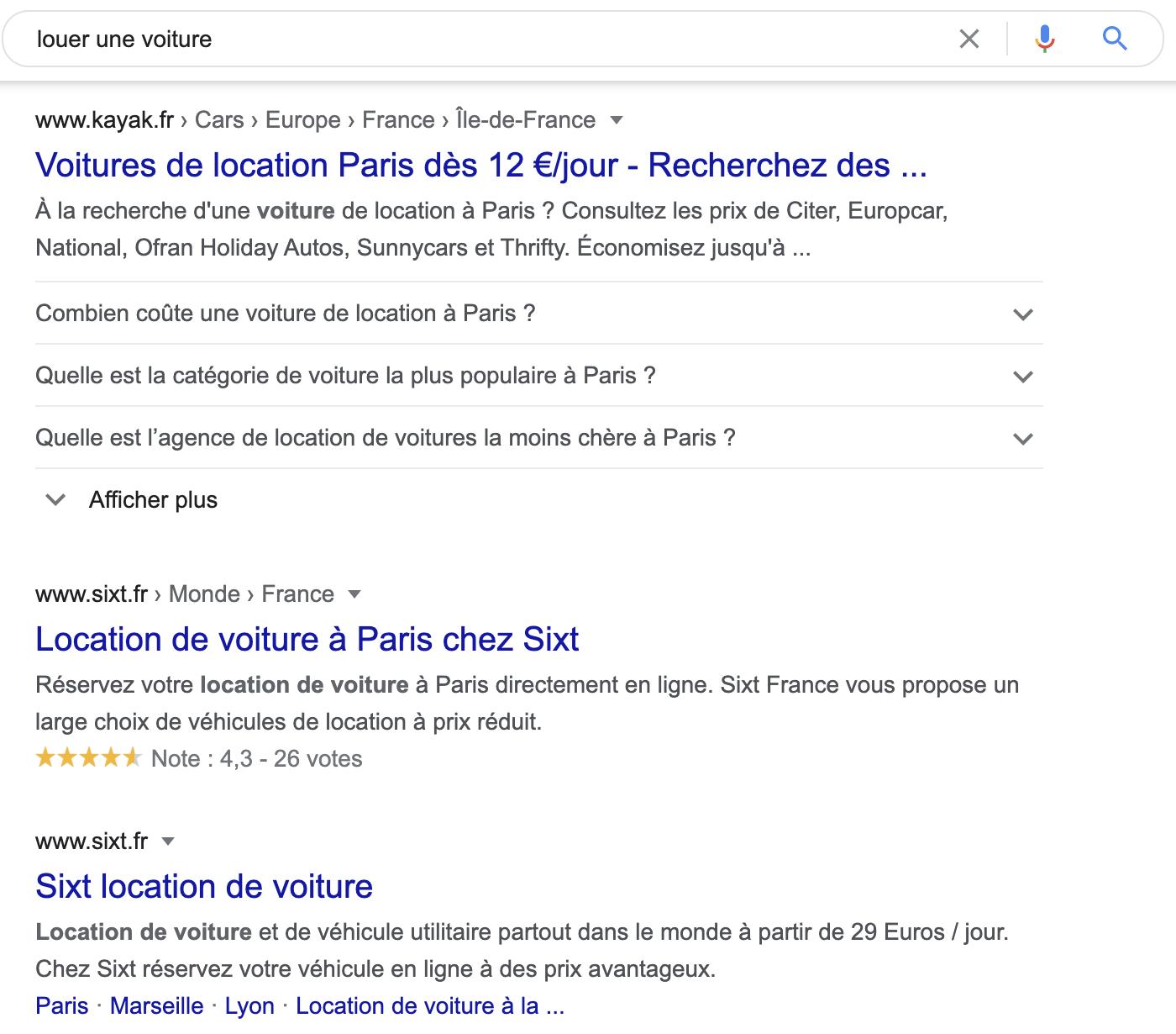Importance de la sémantique pour Google