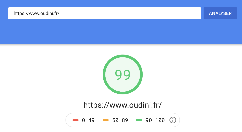 PageSpeed Insights pour auditer la vitesse de son site