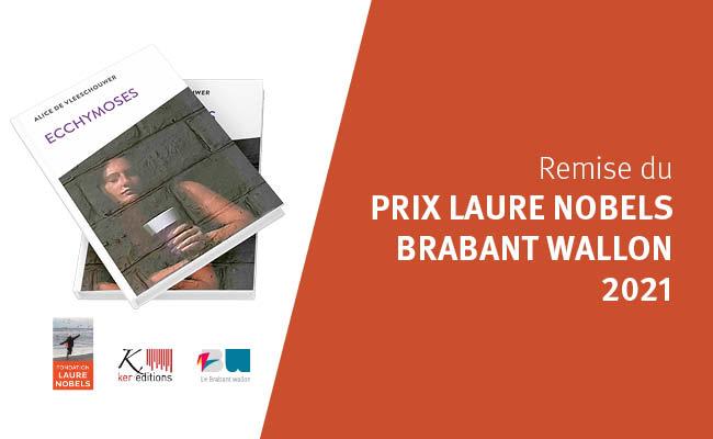 Remise du Prix Laure Nobels du Brabant wallon