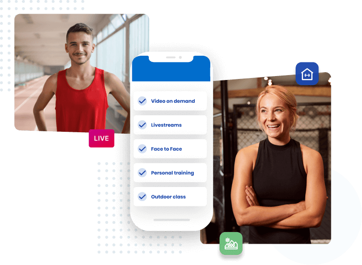 Health and Fitness business for money.
