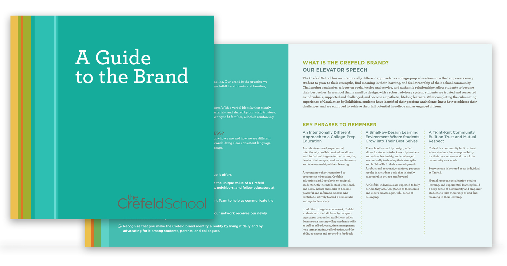 Progressive school branding guide