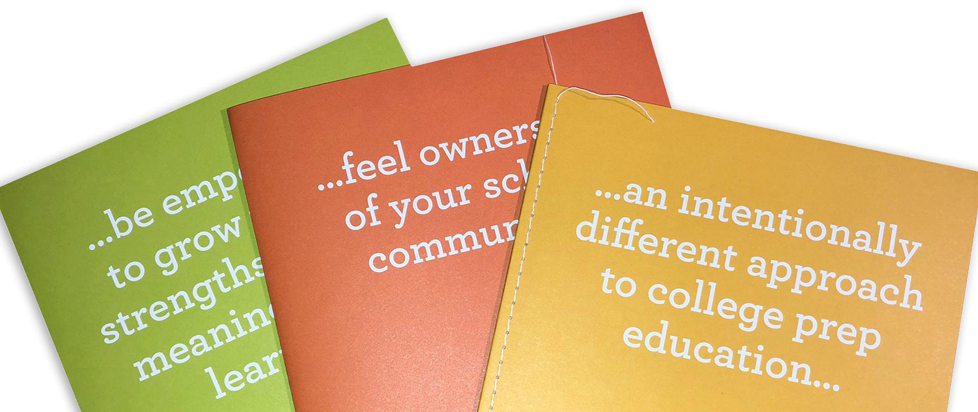 Progressive school viewbook