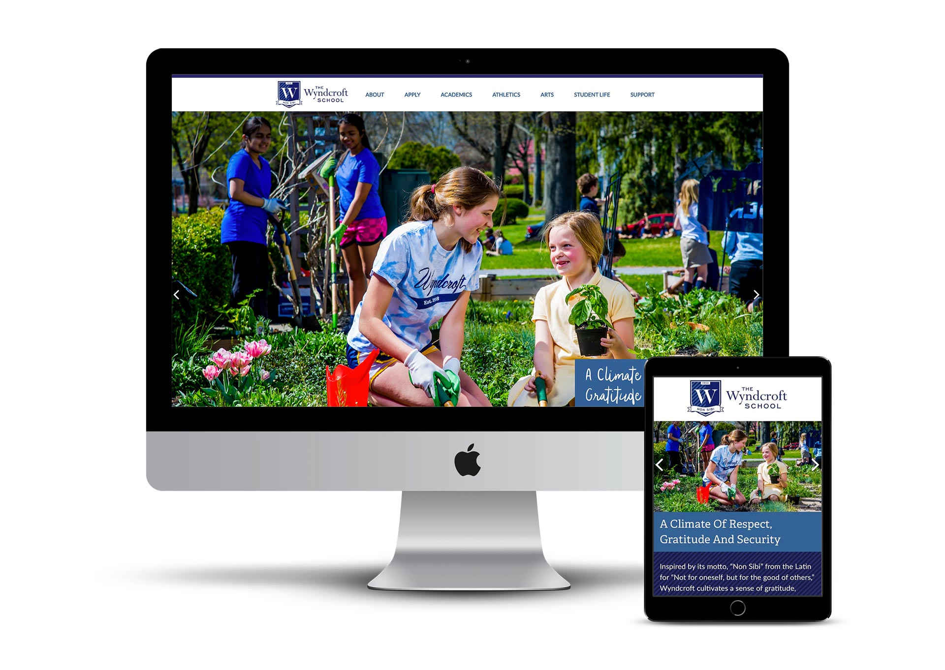 Independent school website