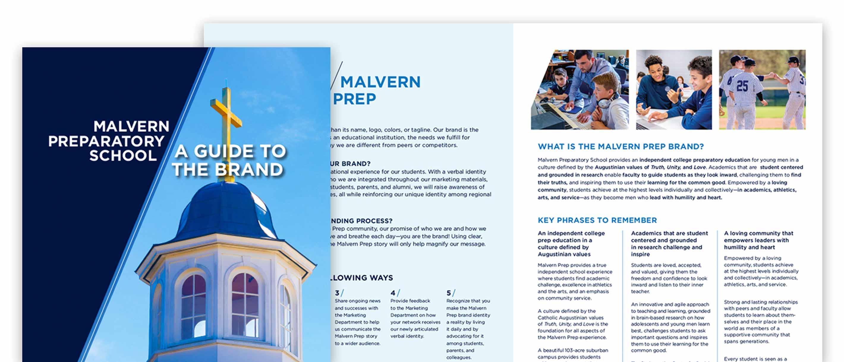 Branding for independent school
