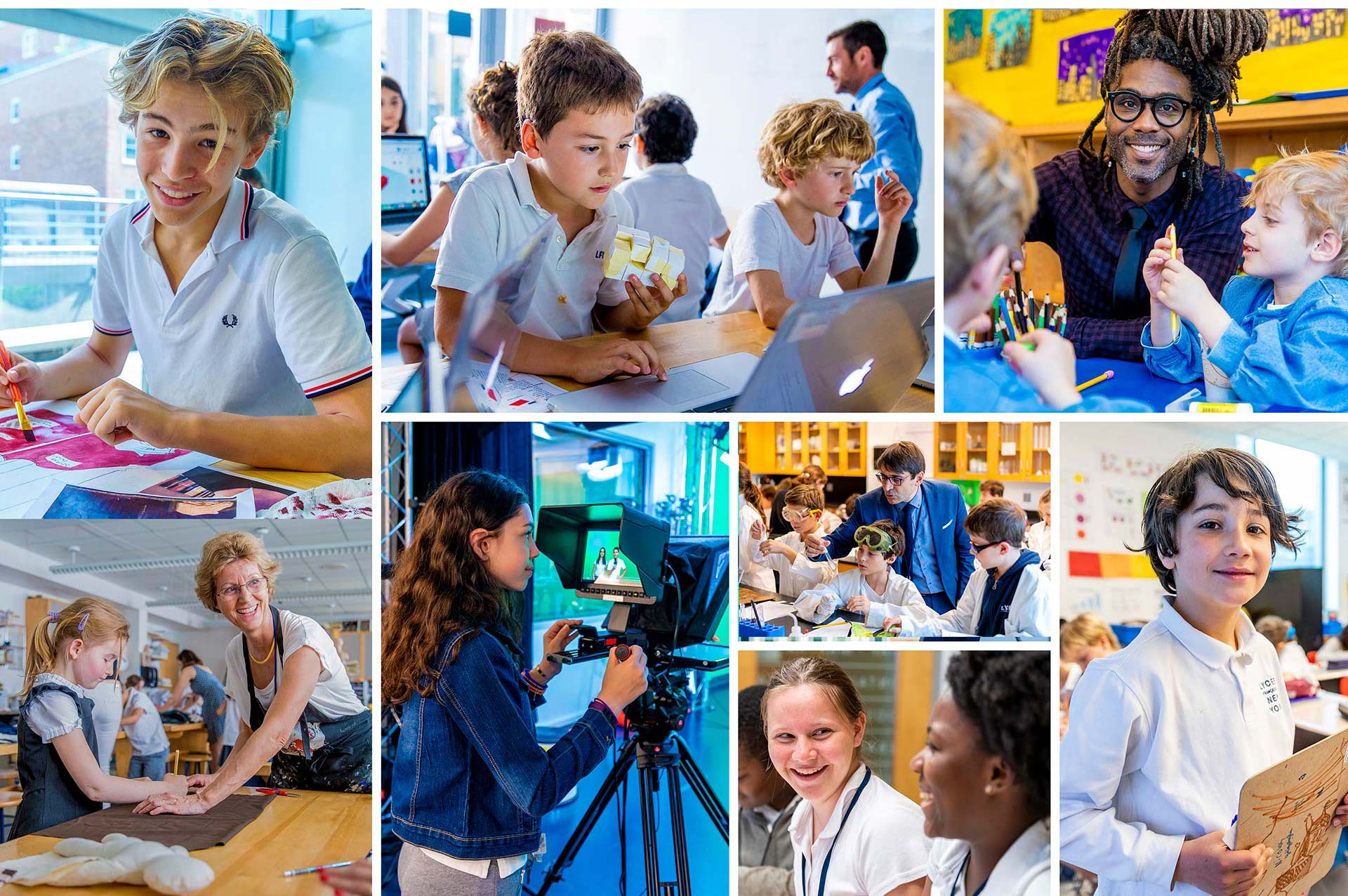Independent school photography