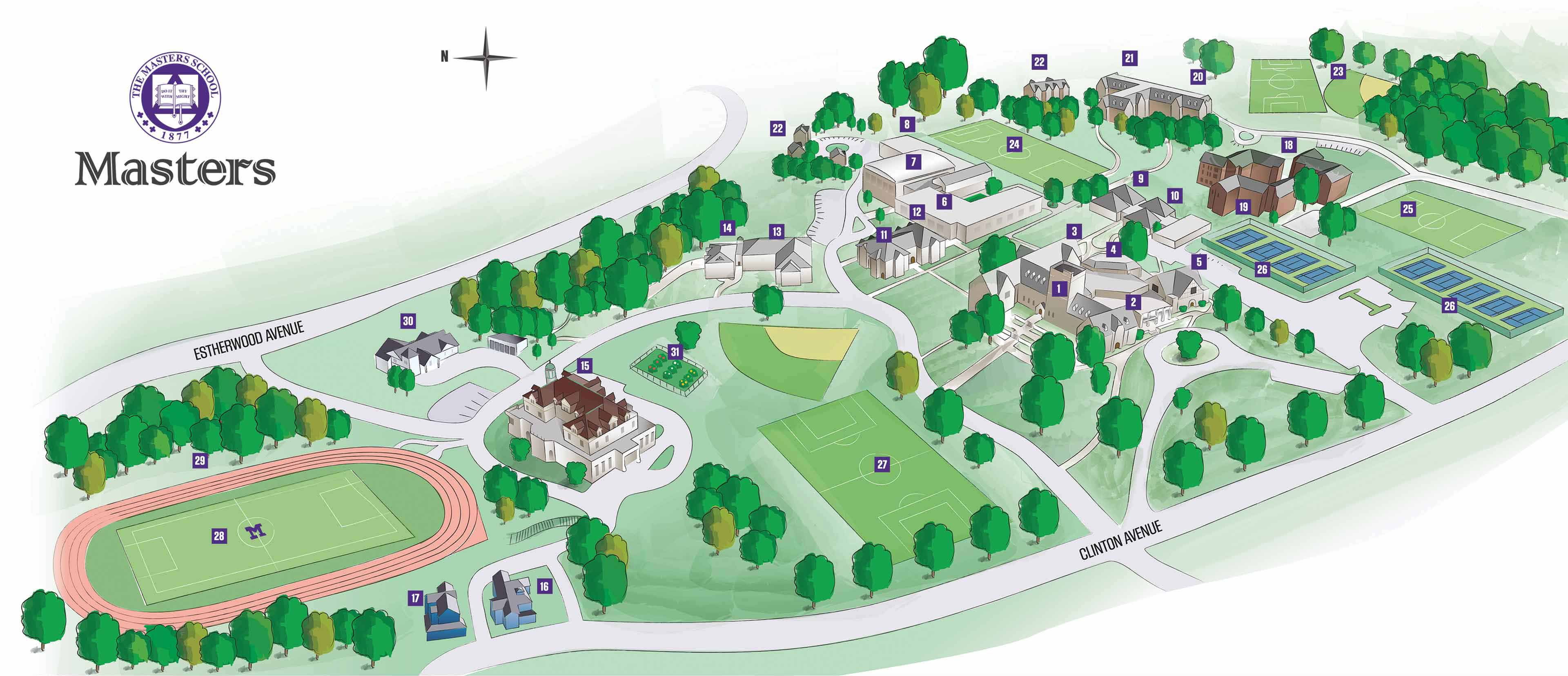 Independent school map