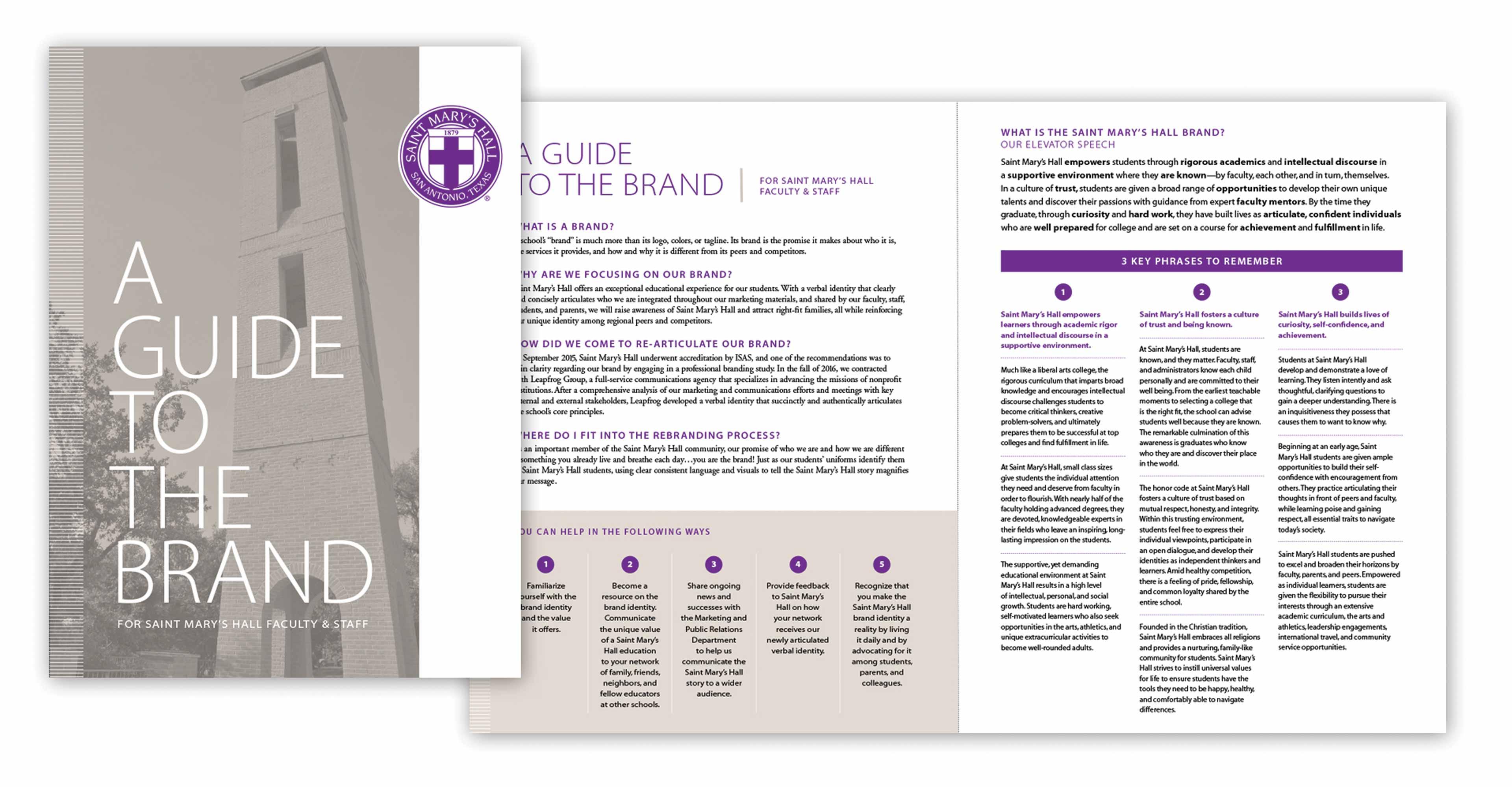 Independent school branding guide