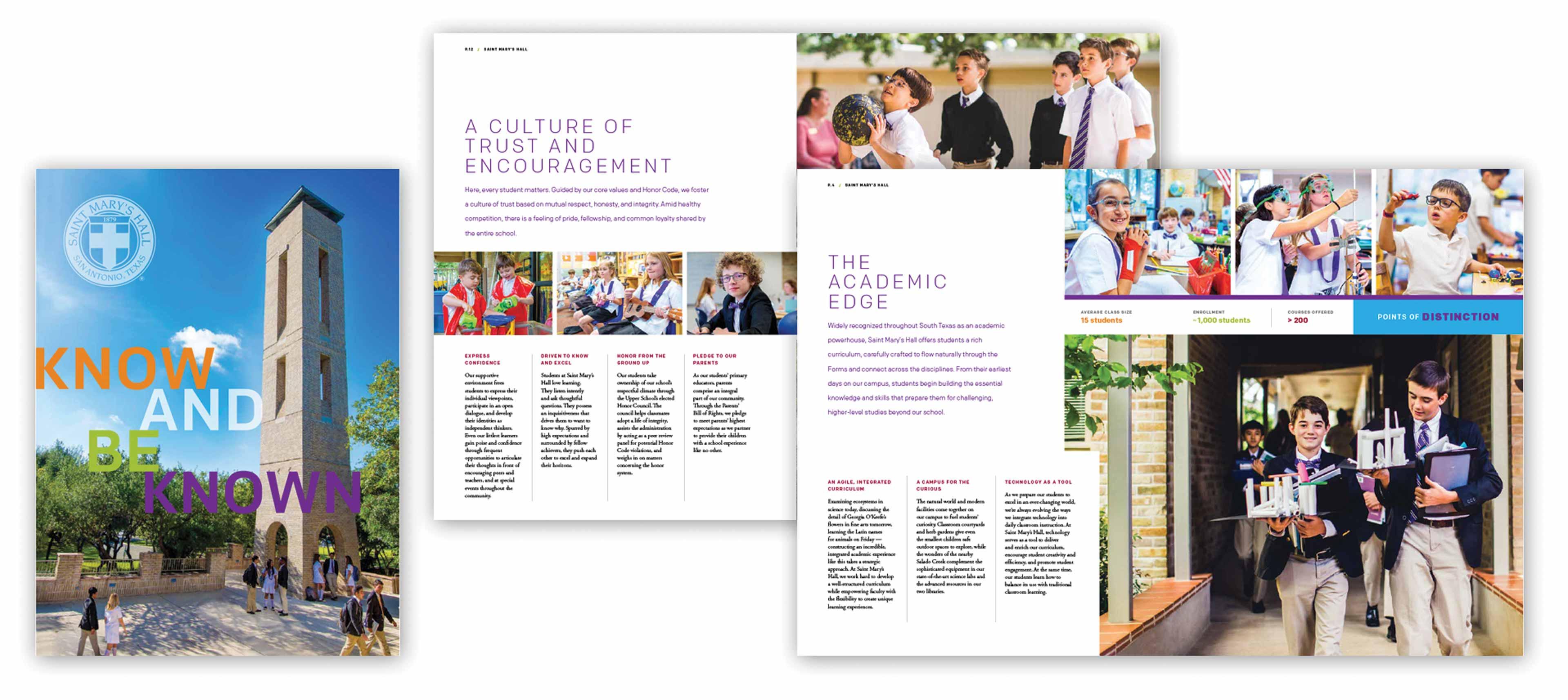 Independent school viewbook