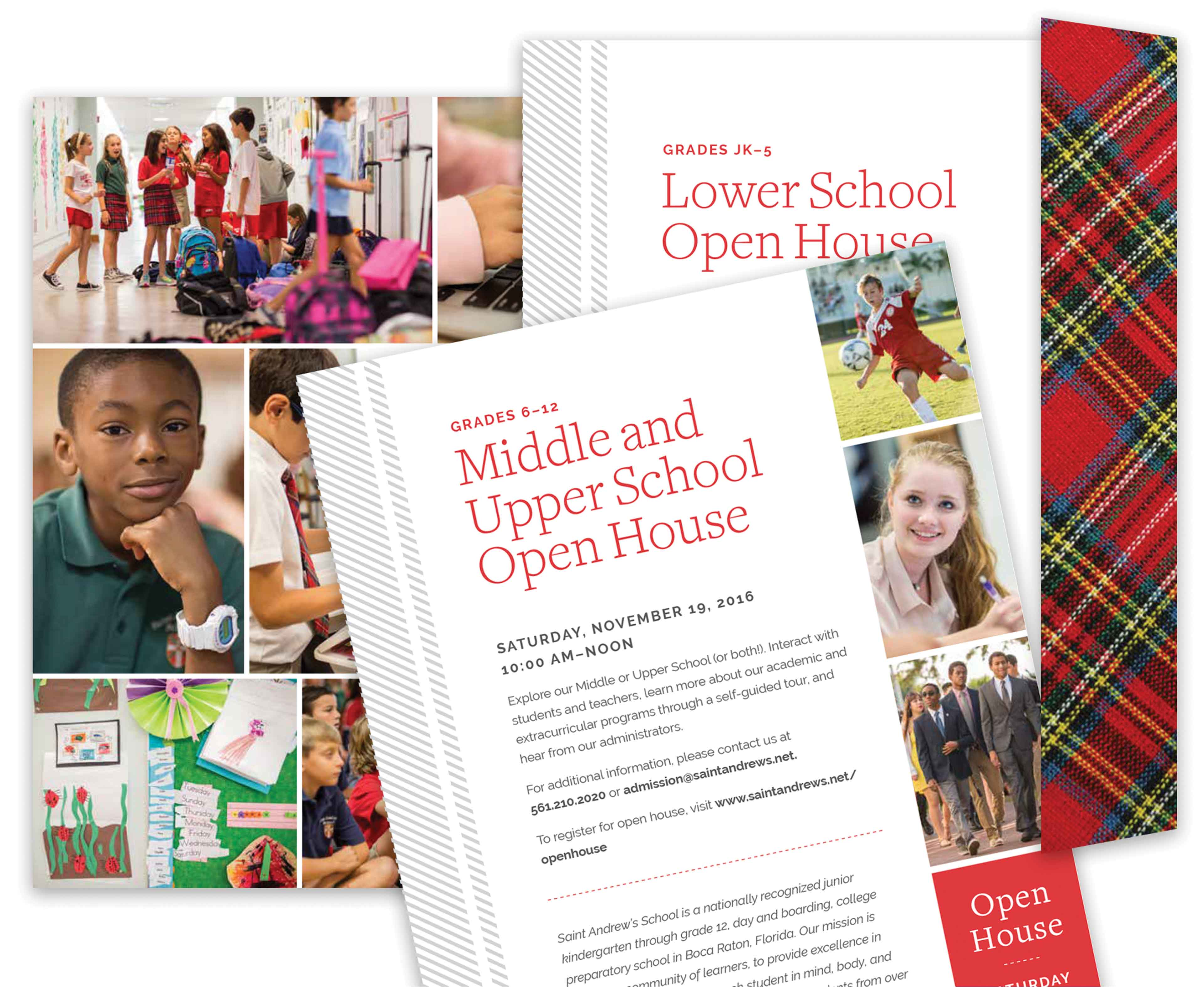 Independent boarding school admissions viewbook