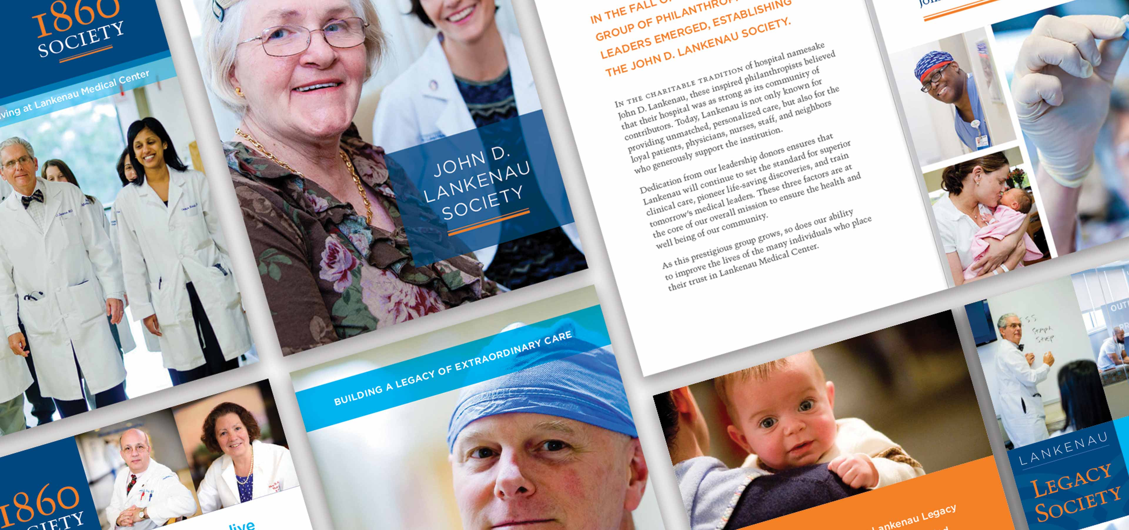Health system donor recognition brochure
