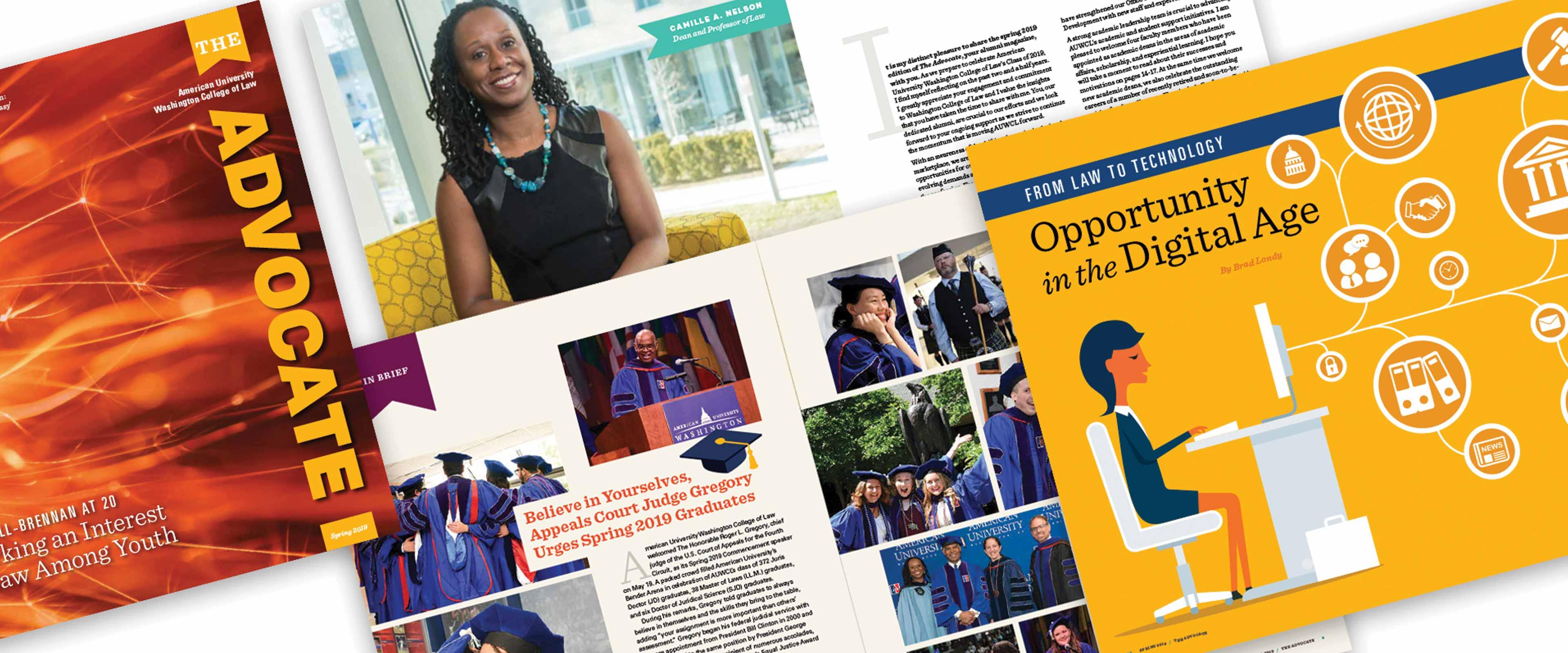 University law school alumni magazine