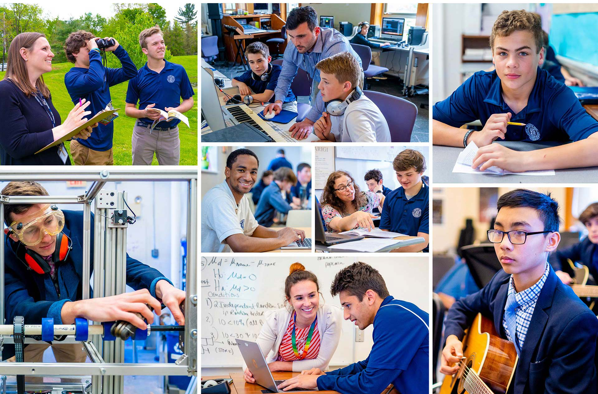 Photography for independent school