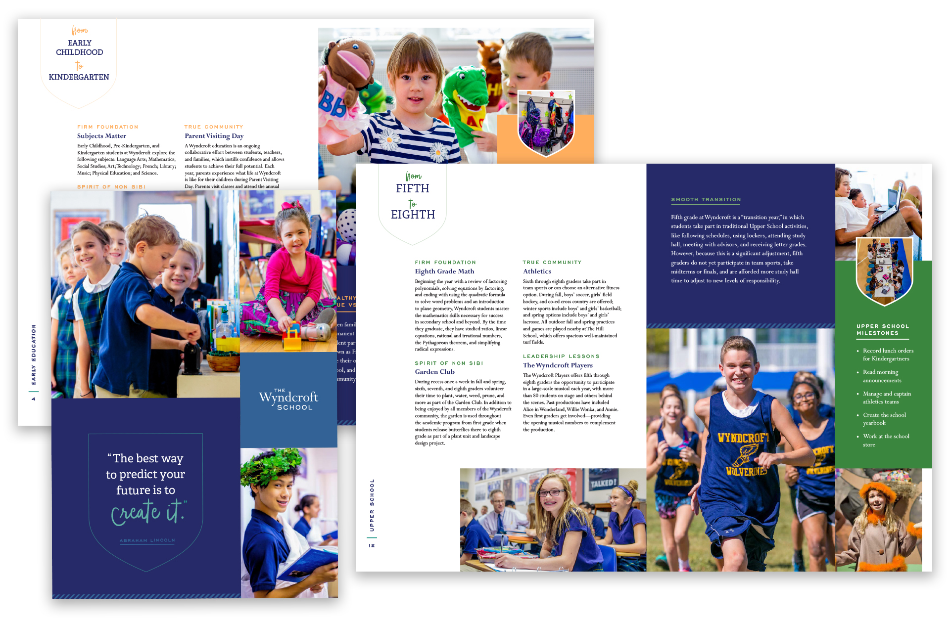 Independent school viewbook