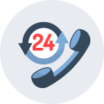 24-Hour On-Program and Emergency Support