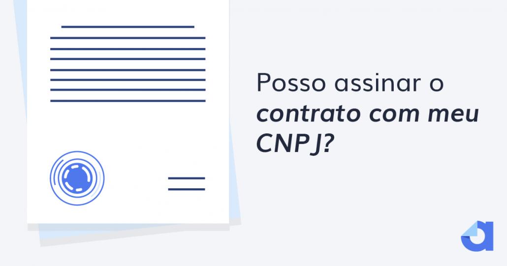 posso assinar documentos com cnpj