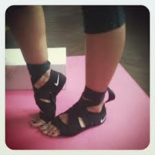 New Nike Studio Wrap Shoes Blue Sparrow Pilates