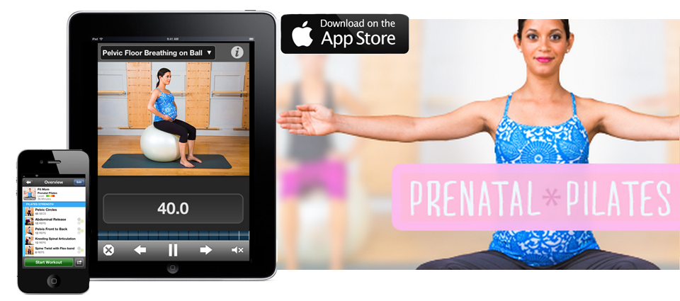Prenatal Pilates App Blue Sparrow Pilates