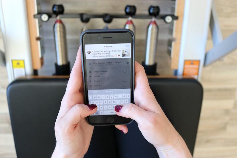 Social Media For Pilates Class