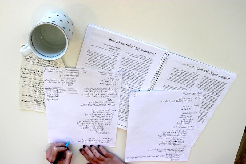 WritingOutClassPlan