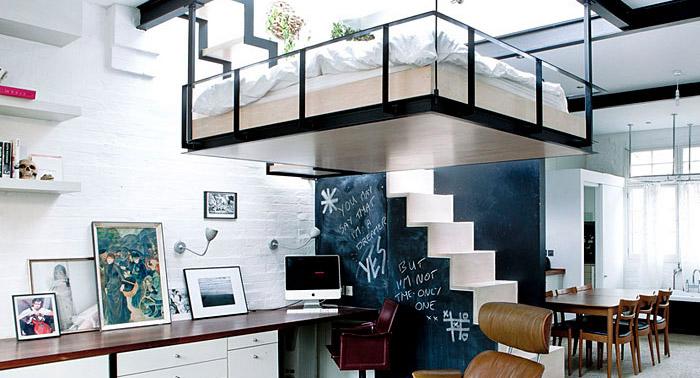 thiết kế một chiếc giường lơ lửng