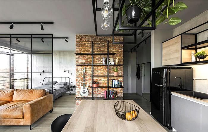 sử dụng trần nhà để lưu trữ đồ đạc