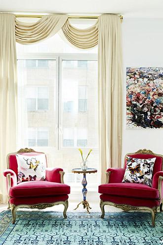 nội thất phòng khách nơi chung cư thành thị