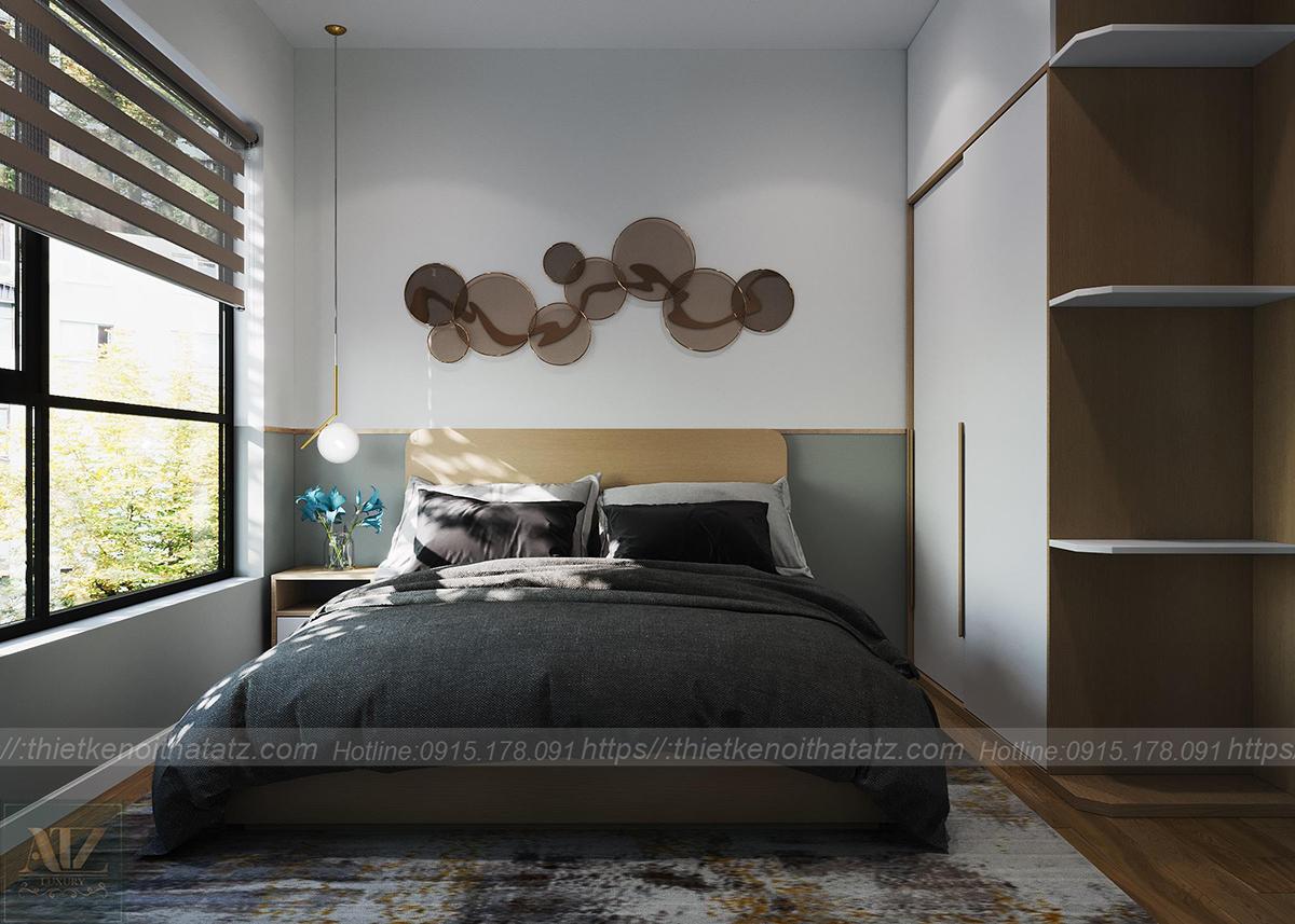 mẫu thiết kế nội thất phòng ngủ master
