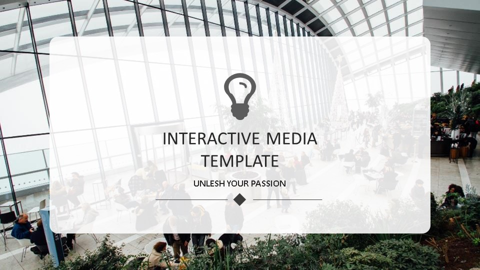 Interactive pitch deck template by Mad Creative Beanstalk.