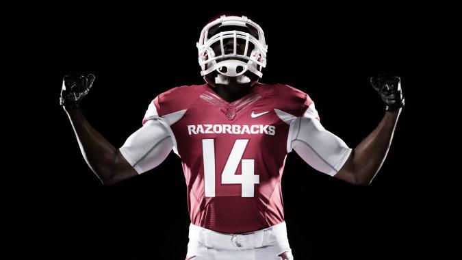 Arkansas Razorbacks football player