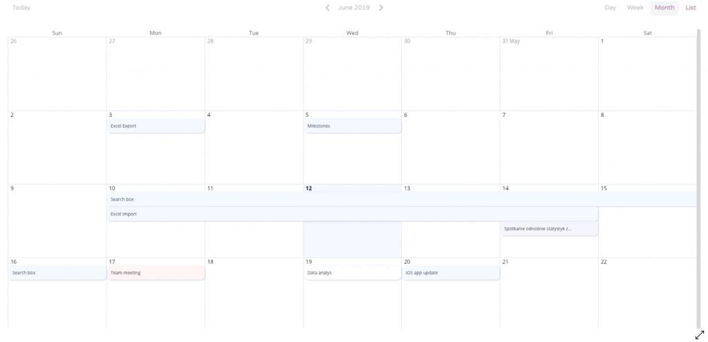 heyspace calendar
