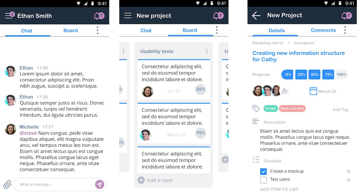 HeySpace android app