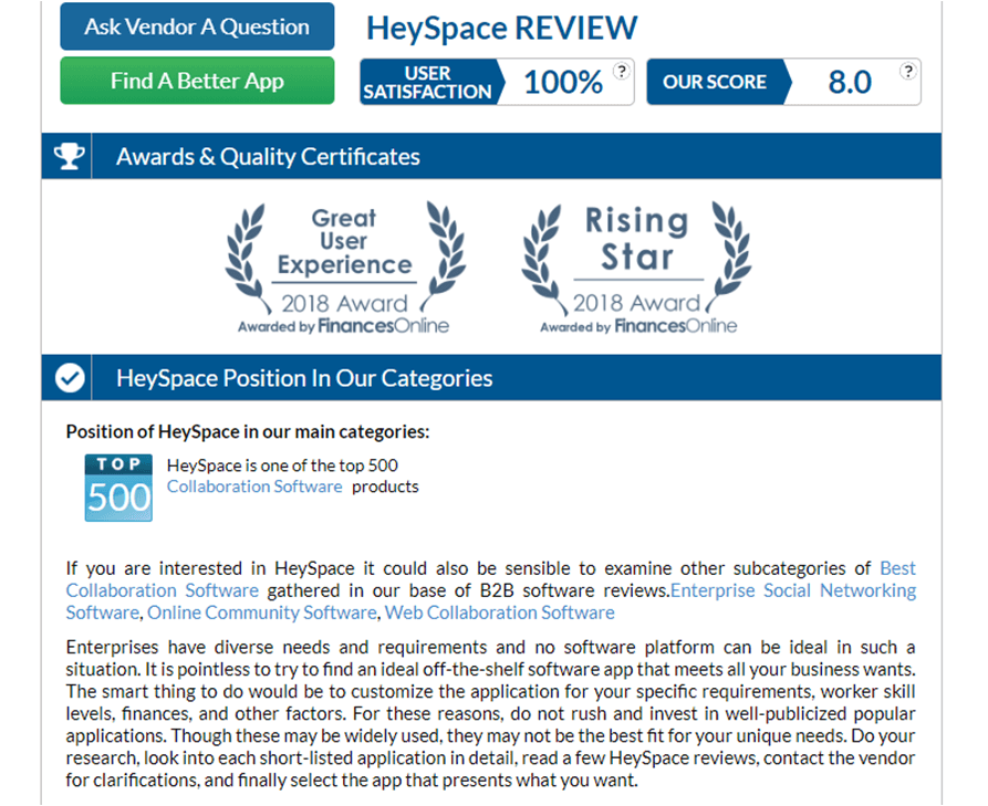 heyspace review